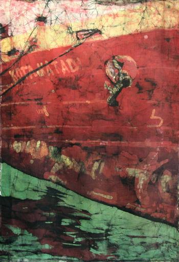 Kota Matadi batik na bawełnie - Urszula Dulewicz-
