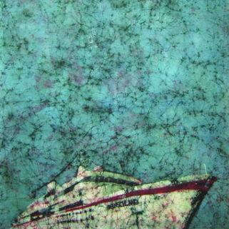 D400 - batik na bawełnie - Urszula Dulewicz