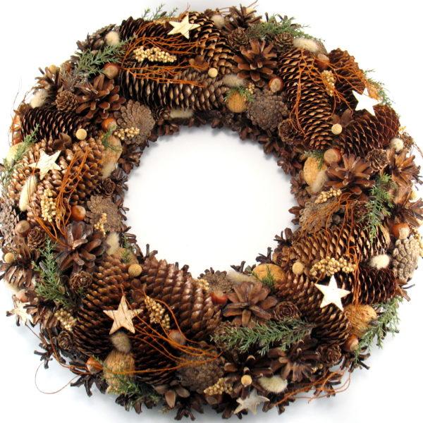 Wieniec świąteczny naturalny, leśny