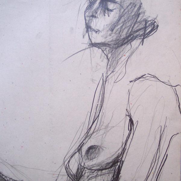 Jej ekspresja (akt kobiecy) - Urszula Dulewicz