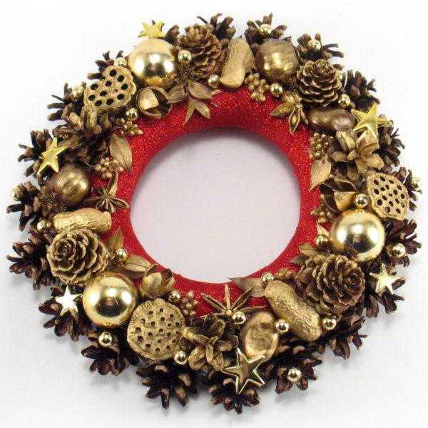 Mały wianek dekoracja bożonarodzeniowa