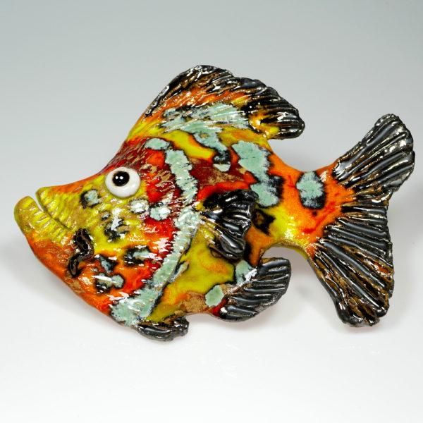 Ryba ceramiczna słoneczna