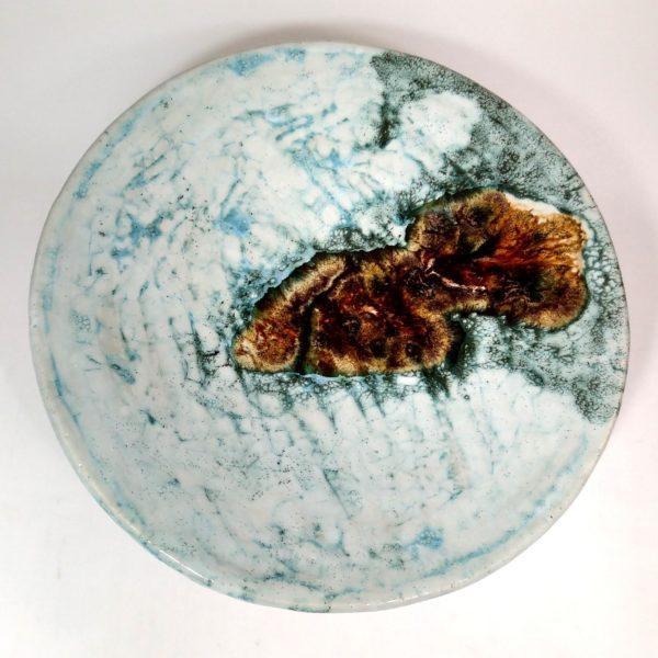 Patera ceramiczna Atlantyda