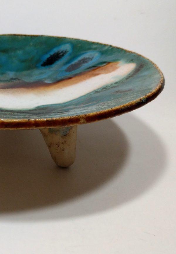 Patera ceramiczna Wyspa