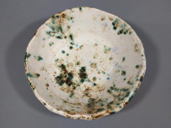 Miska ceramiczna - Pstrokata