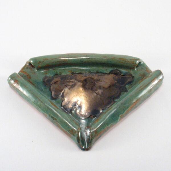 Mydelniczka ceramiczna trójkątna
