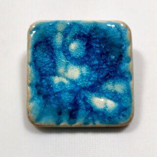 Broszka ceramiczna Błękit Oceanu