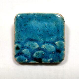 Broszka ceramiczna Rybie Łuski