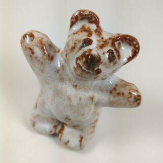 Biały Miś - figurka ceramiczna