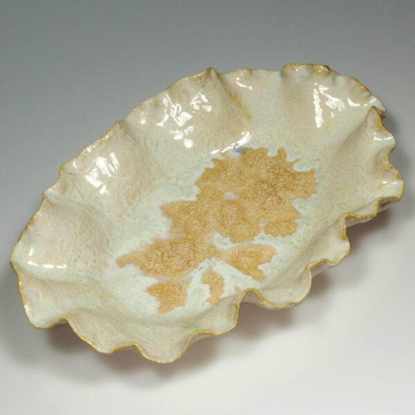 Patera ceramiczna Perłowa Muszla