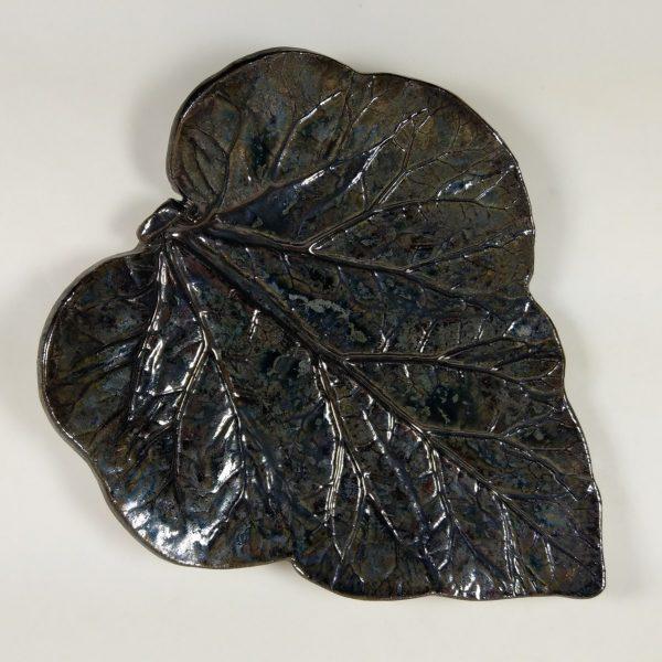Paterka ceramiczna - Czarny Liść