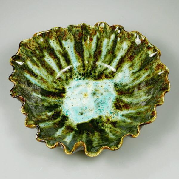 Miska ceramiczna Leśny Poranek