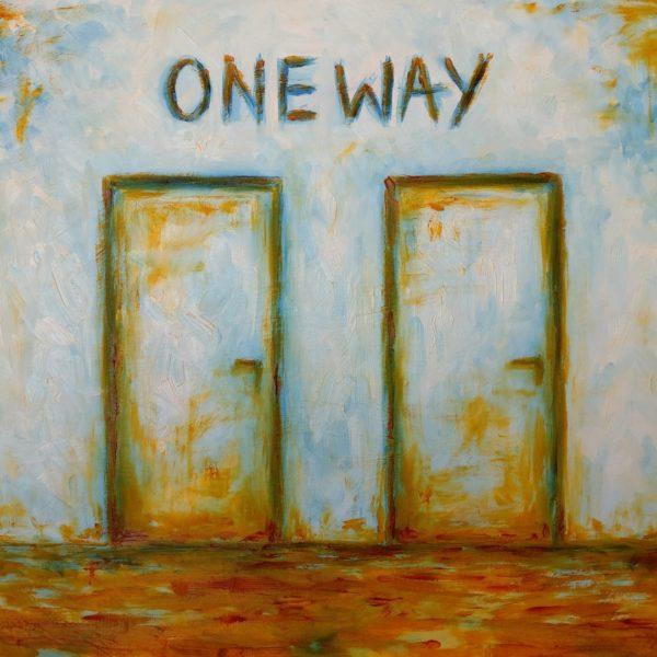 One Way - Olej na płótnie – Dorota Waberska