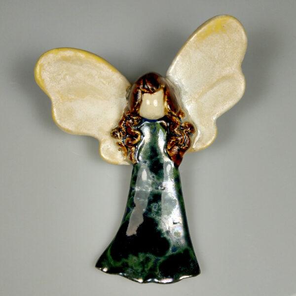 Aniołek ceramiczny Mocny