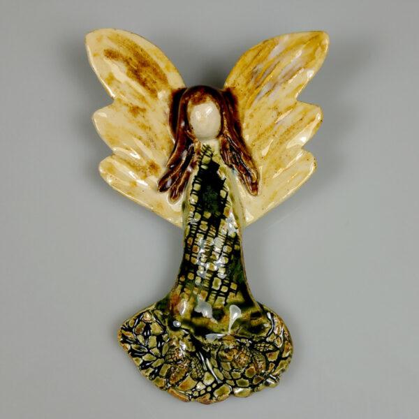 Aniołek ceramiczny Beztroski