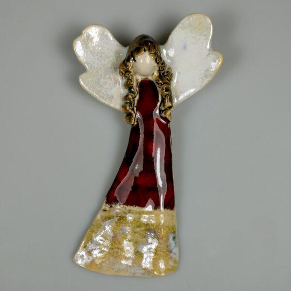 Anioł ceramiczny Subtelny
