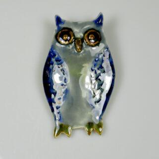 Sowa ceramiczna Uczona