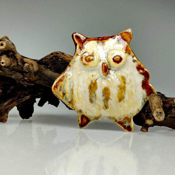 Sowa ceramiczna Lotna