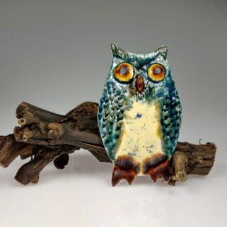 Sowa ceramiczna Utalentowana