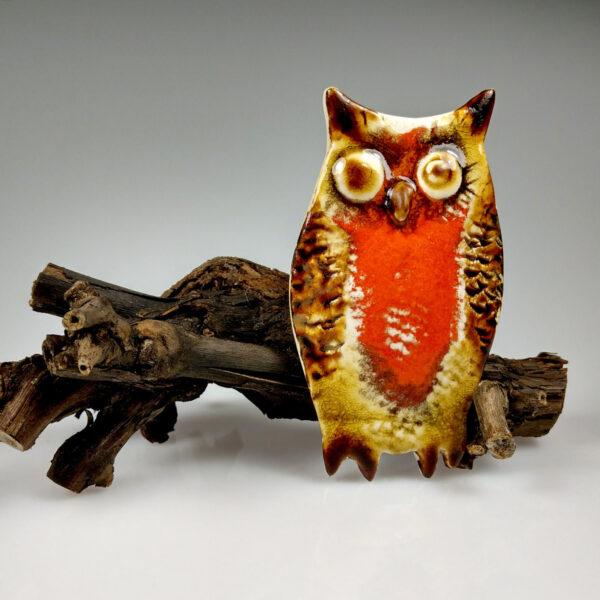Sowa ceramiczna Kreatywna