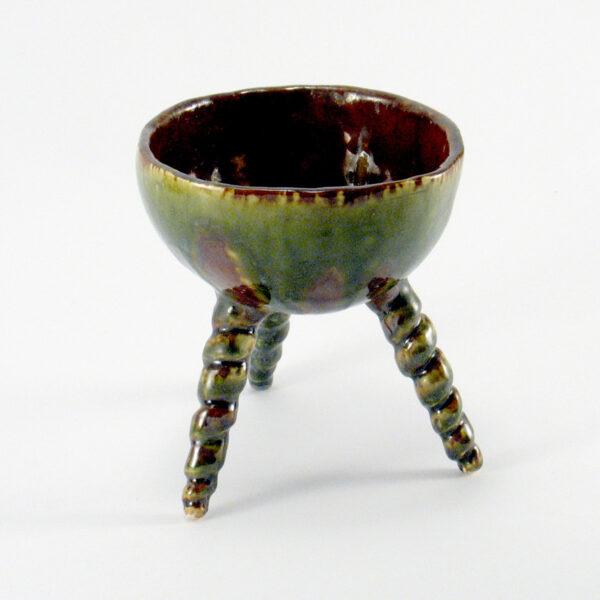 Miseczka ceramiczna - Zielony Wir