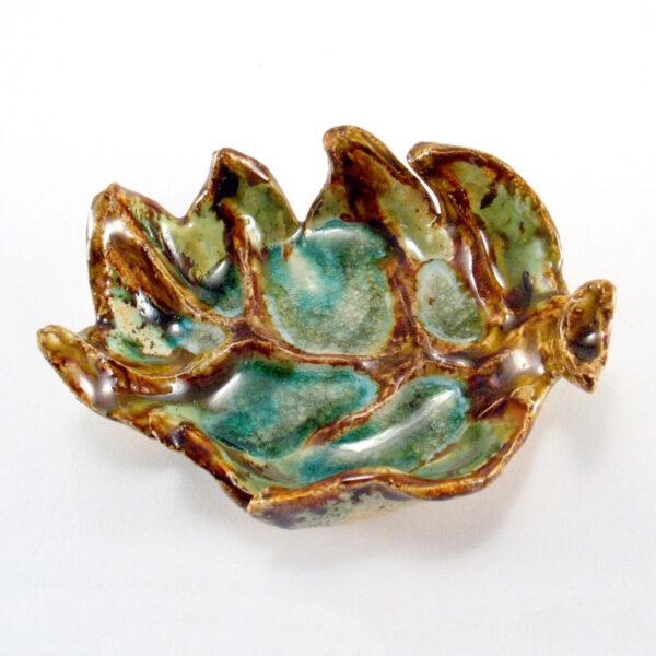 Miseczka ceramiczna - Liść z Lasu 2