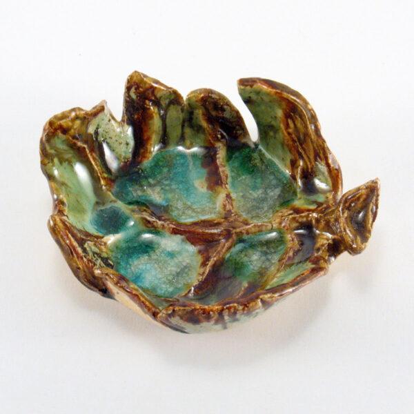 Miseczka ceramiczna - Liść z Lasu 1