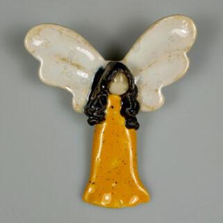 Aniołek ceramiczny Ciepły