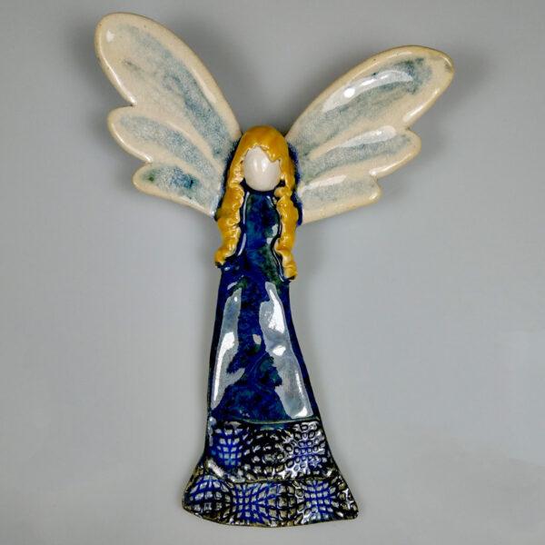 Anioł ceramiczny Sentymentalny