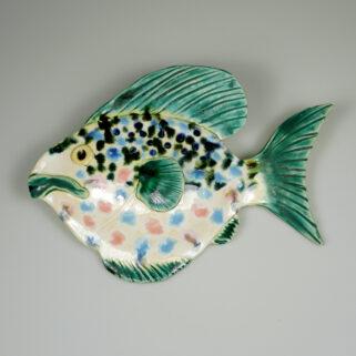 Ryba ceramiczna Buńczuczna, rękodzieło artystyczne