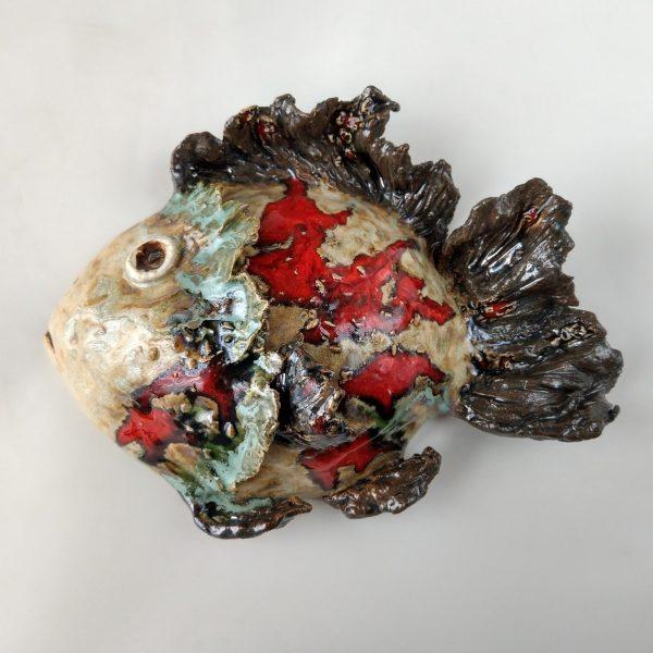 Rzeźba ceramiczna - Gdyńska Rybka