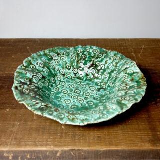 Ceramiczna zielona miseczka