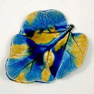 Ceramiczny liść paterka