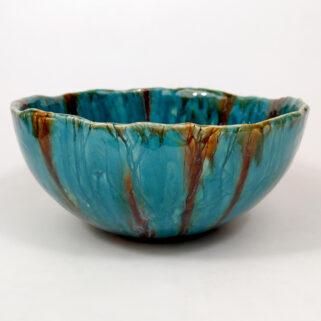 Ceramiczna turkusowa miska