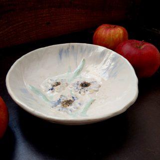 Miska ceramiczna - Kwiaty Polne