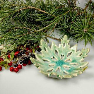 Ceramiczna Świąteczna Gwiazda