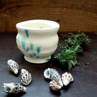 Naczynie ceramiczne - Krem Waniliowy